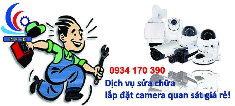 Lắp đặt sửa chữa camera quan sát giá rẻ tại tphcm