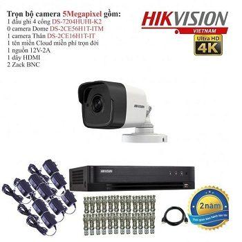 trọn bộ 1 camera cao cấp hikvision 5mp