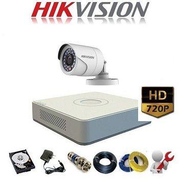 trọn bộ 1 camera giá rẻ hikvision 1mp