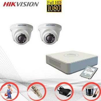 trọn bộ camera tầm trung hikvision 2mp