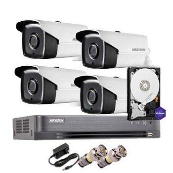 trọn bộ 4 camera cao cấp hikvision