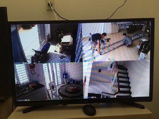camera quan sát bị lỗi hồng ngoại