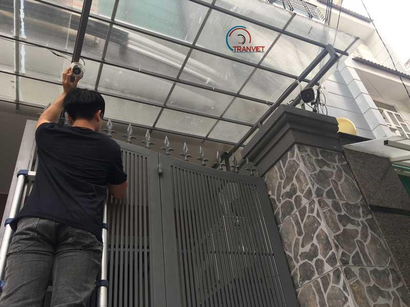 Vị trí đặt camera an ninh cho ngôi nhà