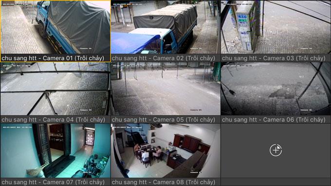Lắp đặt camera khu phố