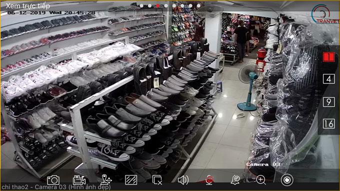 Lắp đặt camera cho cửa hàng bán lẻ